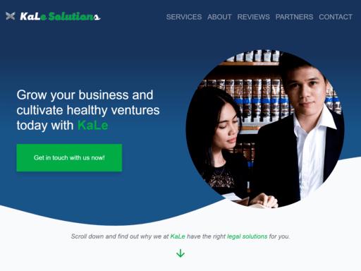 kale-solutions-website